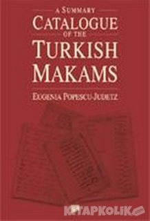 Pan Yayıncılık - A Summary Catalogue of the Turkish Makams