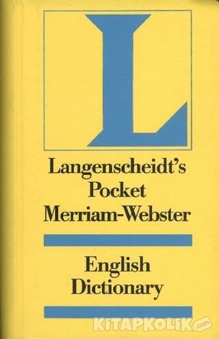 Langenscheidt Pocket Merriam-Webster Dictionary The World Famous English Dictionary